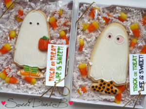 SDB Trick or Treater Ghost_ghost cookies packaged
