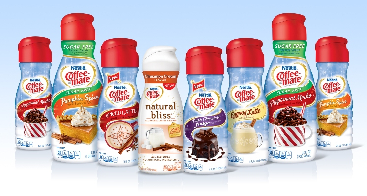 2013 Coffee-mate Seasonal Family Shot