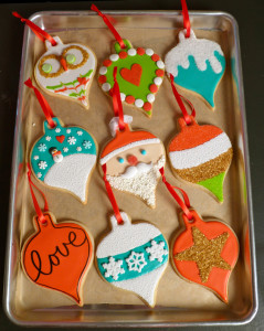 SDB Ornament Cookie Tray