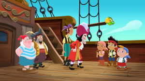 MR. SMEE, SHARKY, BONES, CAPTAIN HOOK, IZZY, SKULLY, JAKE, CUBBY