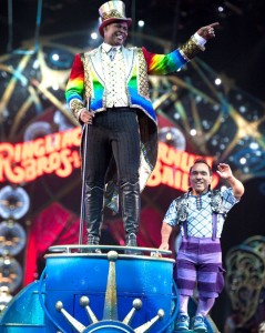 Ringmaster Jonathan Lee Iverson - Credit Feld Entertainment