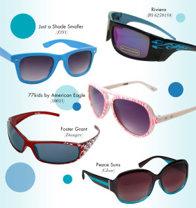 Sunglass options for kids