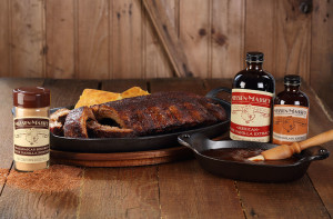 Sweet and Spicy BBQ Rub  Nielsen-Massey Signature BBQ Sauce - Product