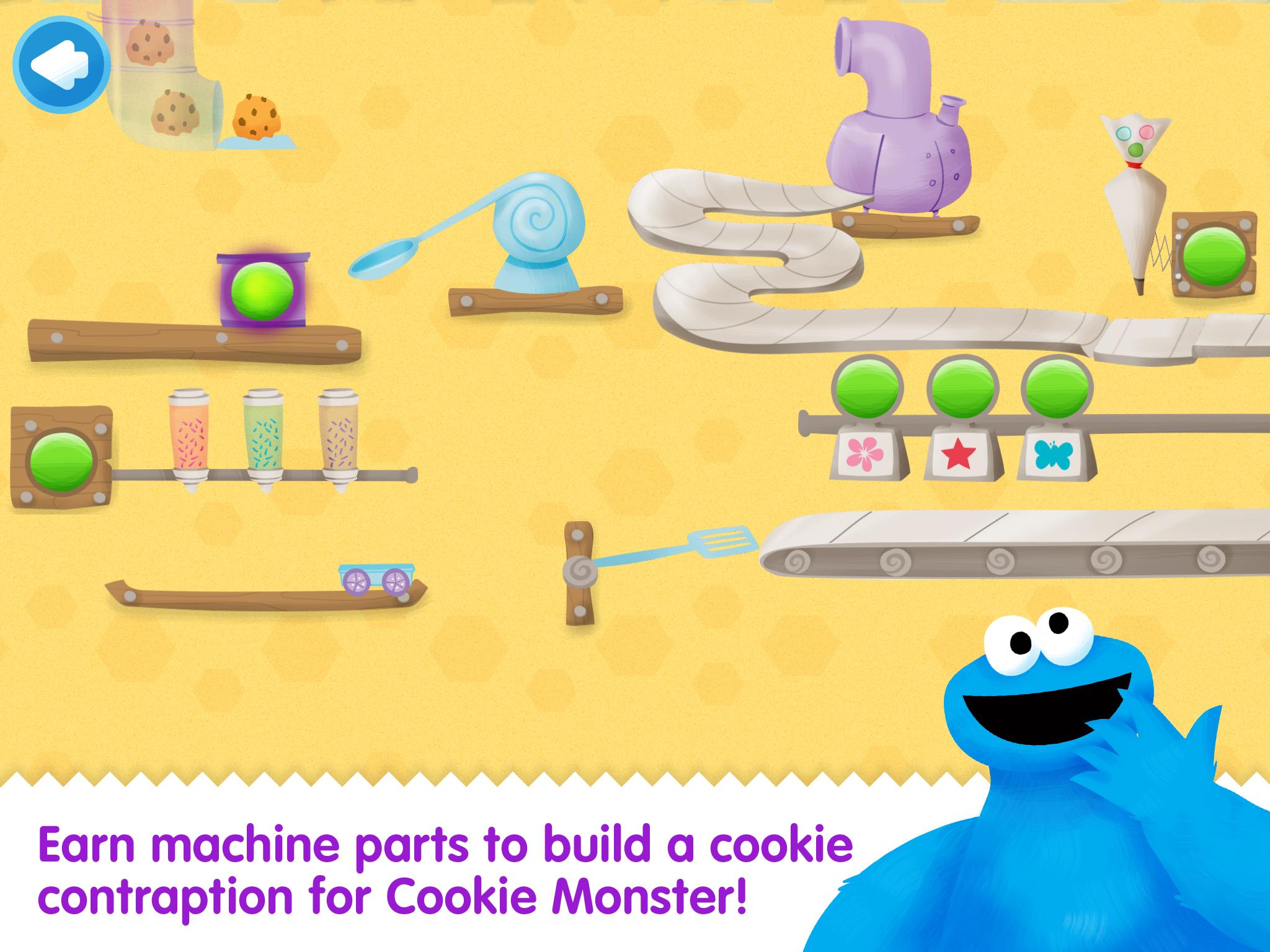 New Cookie Monster Ipad App From PBS Kids Sesame Street