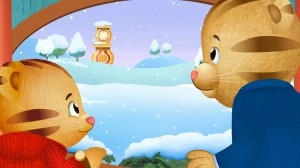 Daniel Tiger - A Snowy Day