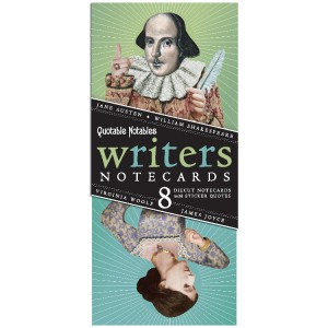 Great Writers Notecards - full cover