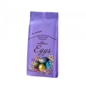 50145 3.5oz Foiled Milk Eggs Bag