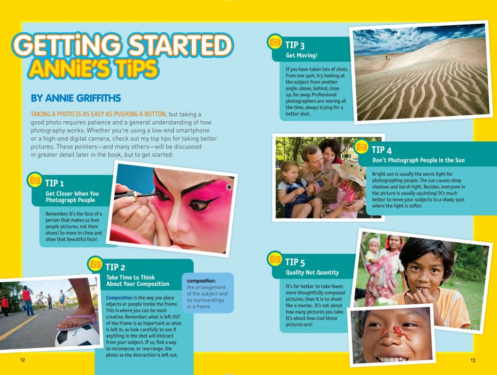 Getting Started Nat Geo Guide to Photos, credit Annie Griffiths
