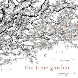 Book Cover--The Time Garden by Daria Songsmaller