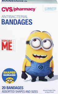 CVS Minions Bandages