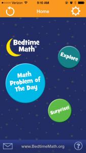 bedtime math app