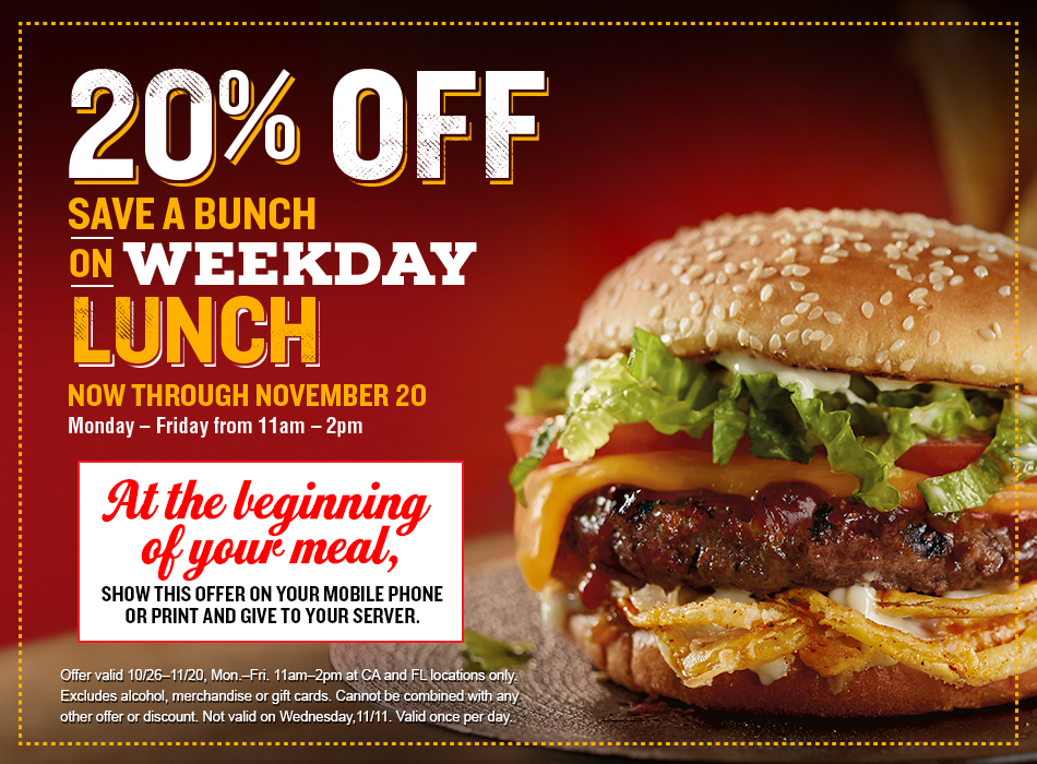 Red Robin Rewards Royalty Members with Craveable Weekday