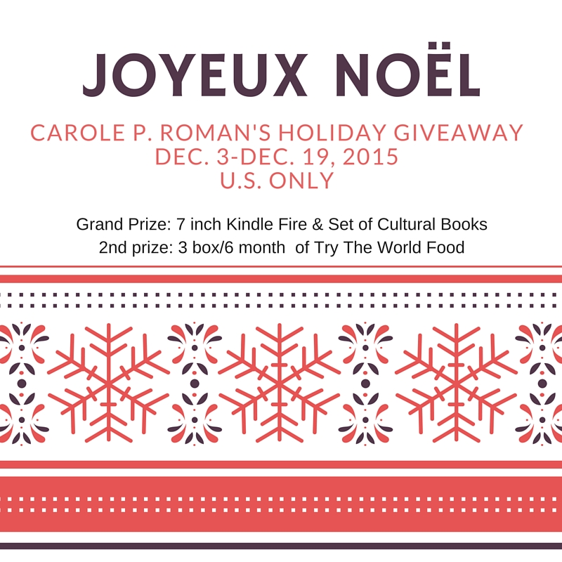 Carole Roman & Michael Cash Holiday Giveaway Sign up! (1)