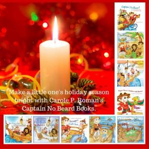 Make a little one's holiday season bright with Carole P. Roman's Captain No Beard Books.