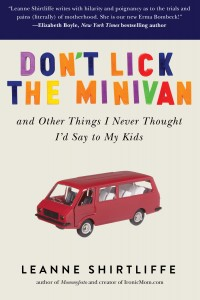 Dont Lick the Minivan PB