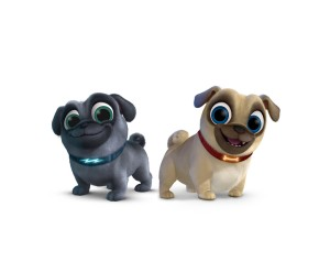 "PUPPY DOG TAILS - Disney Junior has ordered two new animated series, ""Vampirina,"" executive-produced by ""Doc McStuffins"" creator Chris Nee, and ""Puppy Dog Tails,"" created by comedian Harland Williams. Both series have begun production and are slated to premiere in 2017. (Disney Junior)"