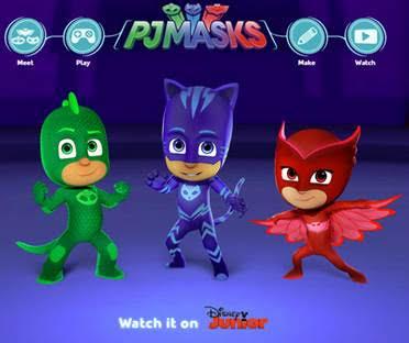 Official Pj Masks Website Launches