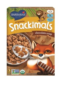 Barbara's Organic Snackimals Cereal -Chocolate Crisp