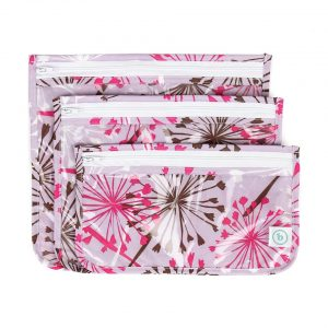 Bumkins - Clear Travel Bags - Dandelion