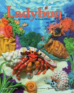 Ladybug cover ocean