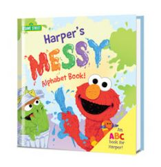 The Messy Alphabet Book