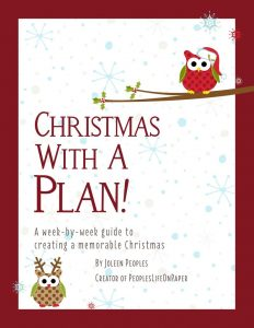 Christmas With a Plan! workbook helps busy families enjoy an organized and memorable holiday. The 122-page book also serves as a keepsake journal of cherished memories and photos. Available at Amazon.com and everywhere books are sold. (PRNewsfoto/Ahearn Ink)
