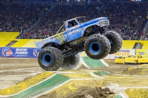 MONSTER JAM® Crushes Through Angel Stadium of Anaheim with