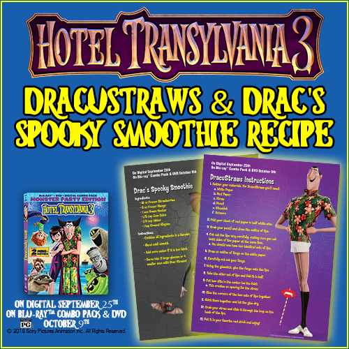 HOTEL TRANSYLVANIA 3 On Blu-ray™ Combo Pack And DVD On