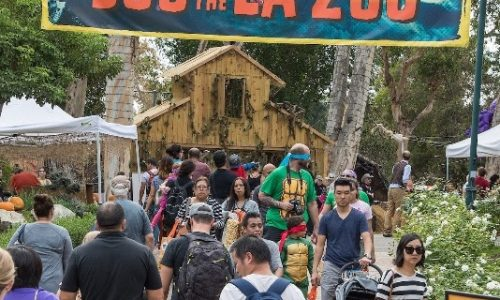 BOO AT THE L.A. ZOO Treats Goblins and Gools to a Month-Long Hair-Raising Celebration! <small class=