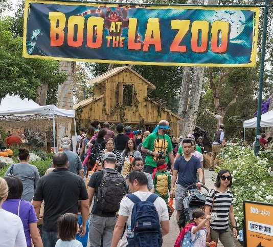 Boo At The L A Zoo Treats Goblins And Gools To A Month Long Hair